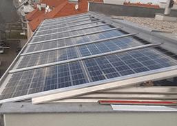 Unterkonstruktion für Photovoltaik Anlage